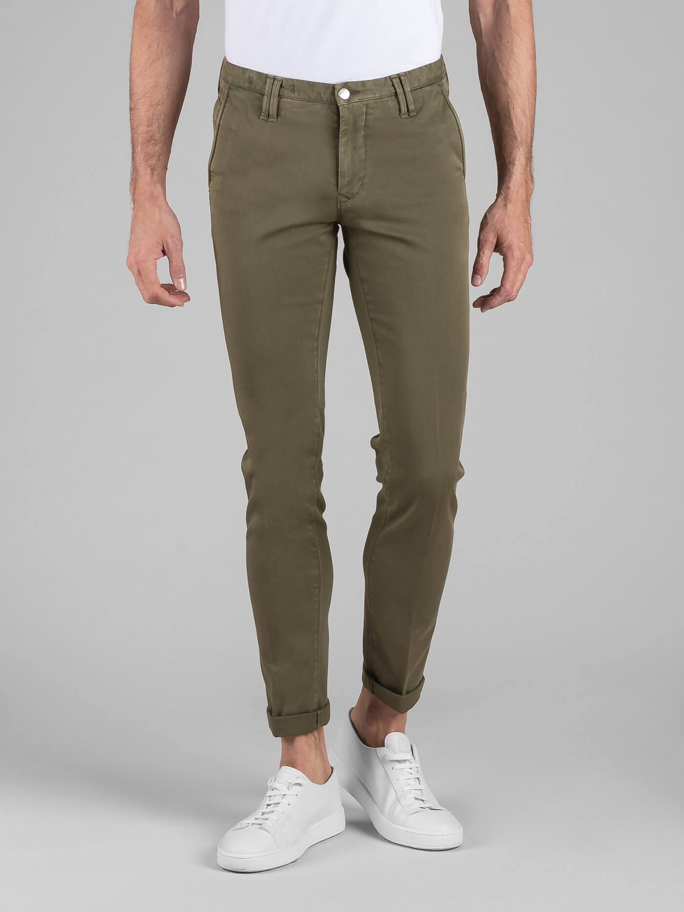 Pant. Clay Gabardina Diagonale Stretch Militare