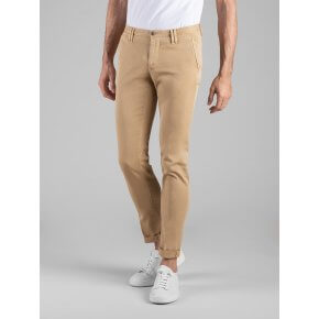 Pant. Clay Gabardina Diagonale Stretch Kaki