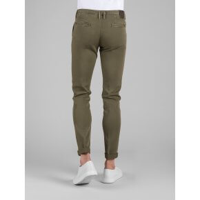 Pant. Clay Gabardine Diagonale Stretch Militare