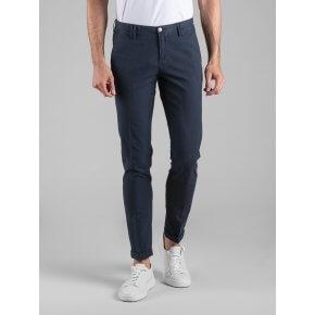 Pantalone Clay Blu Microfantasia Geometrica