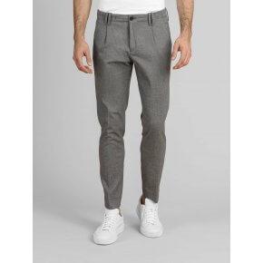 Pantalone Tom Grigio Chiaro Microfantasia Japan