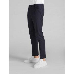 Pantalone Tom Blu Tela Lana ZQ Merino Lavabile