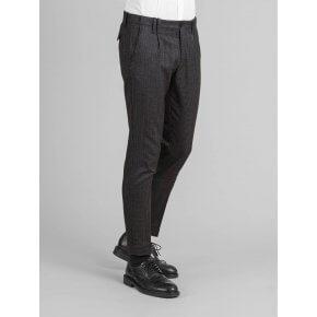 Pantalone Tom Blu Pied Poule Japan
