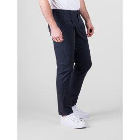 Pantalone Tom cotone armaturato blu