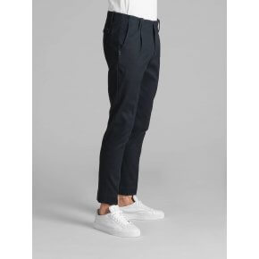 Pantalone Tom Blu Cotone Diagonale Japan Stretch.