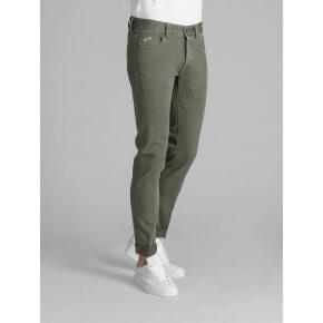 Pantalone Tood Verde Bull Denim Japan
