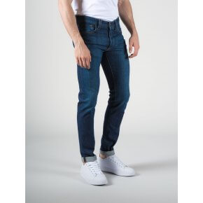 Denim Tood Blu Scuro Stone Washed Stretch