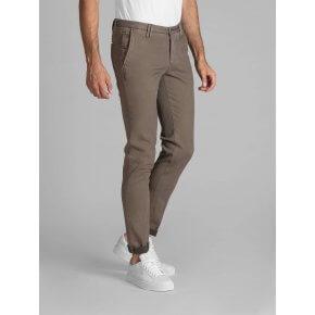 Pantalone Clay Cotone Diagonale Beige