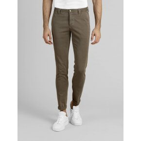 Pantalone Clay Beige Cotone Oxford Stretch