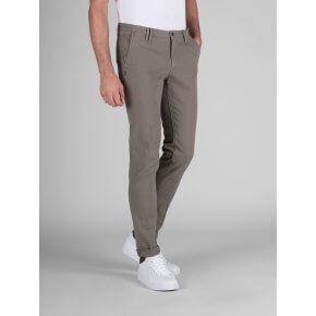Pantalone Clay Fango Cotone Operato Stretch