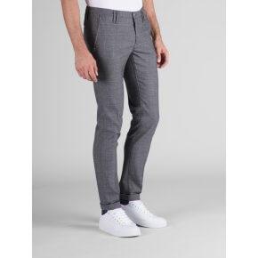 Pantalone Clay Galles Grigio Medio Cotone-Lana
