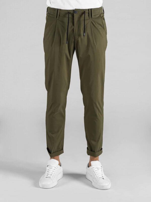 Pantalone Toto' Foresta Cotone Tela Vela Stretch