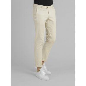 Pantalone Liam Avorio Drill Cotone Smerigliato