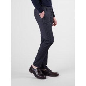 Pantalone Ronny Lana Blu Microfantasia