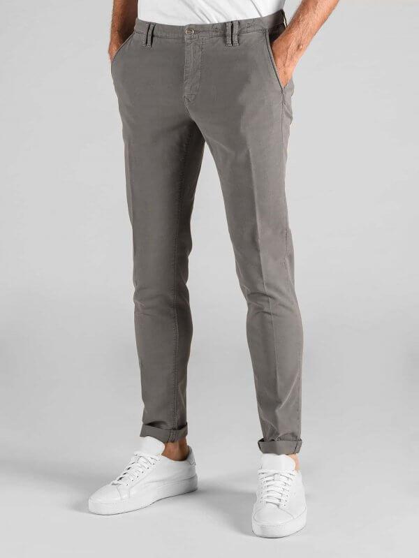 Pantalone Clay Cemento Cotone Armaturato Stretch